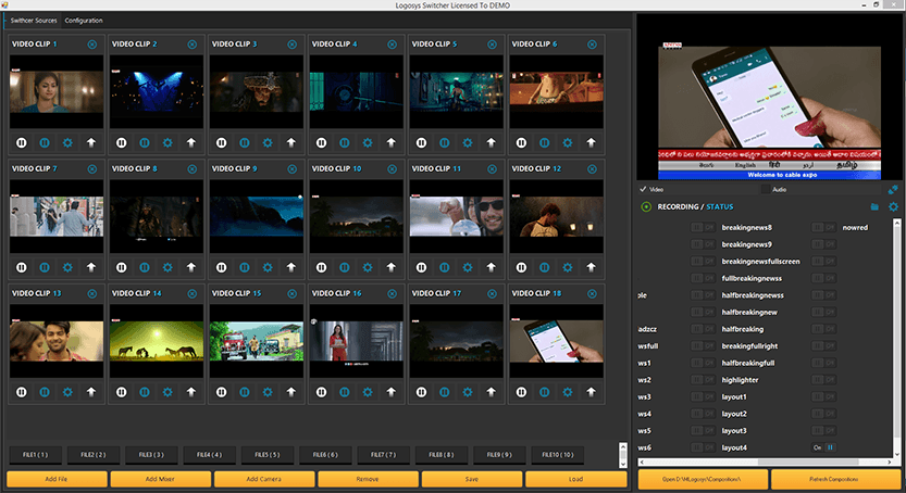 Logosys playout software best playout software in india